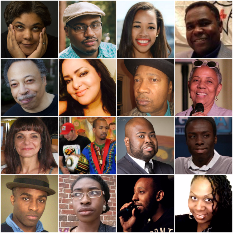 BHM performers, writers, poets, activists and historians