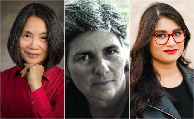 Writers Jan Wong, Helen Humphreys and Scaachi Koul